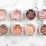 Everyday Minerals : Blushers and eye shadows